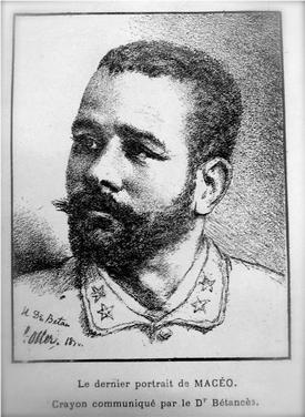 Hallan en Pars retrato del General Antonio Maceo  Cubadebate