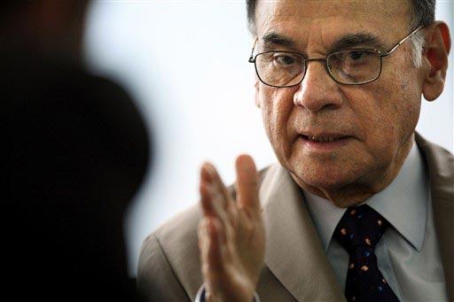 Alí Rodríguez Araque, ministro de Energía Eléctrica de Venezulea, conversa con Cubadebate. (Foto: Archivo)