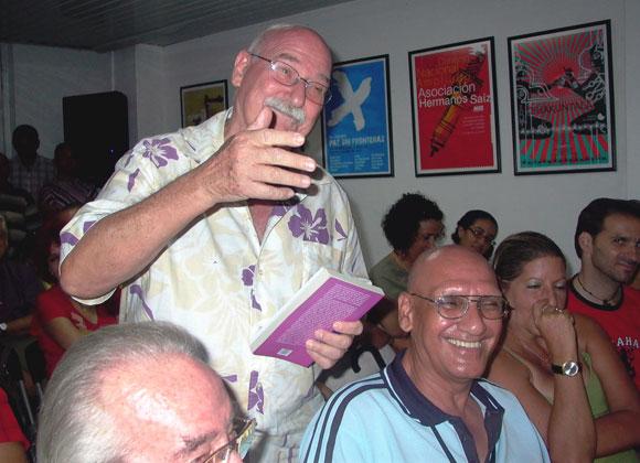 Personalidad de la cultura y amigos asistieron al Encuentro con Antón Arrufat. Foto: Marianela Dufflar
