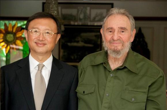 Fidel Castro y el Canciller chino