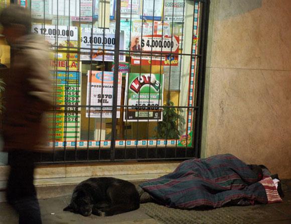 La publicidad del contraste. Argentina. Foto: Kaloian