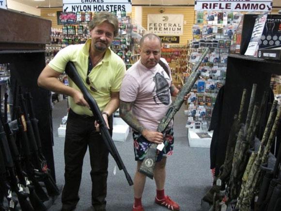 Tienda para la venta de Armas en los Estados Unidos