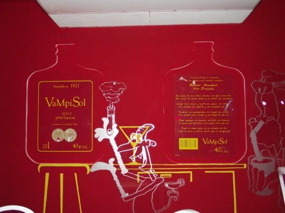 . La fórmula del Vampisol se encuentra dentro de la ambientación del lugar