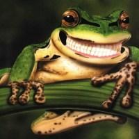 La ciencia con la boca abierta: una rana tiene dientes