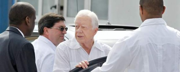 Jimmy Carter. Foto: Enrique de la Osa/ Reuters