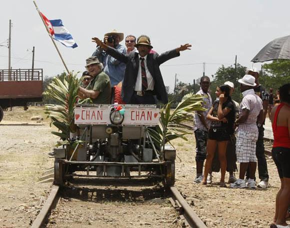 La despedida de Alto Cedro Foto: Ismael Francisco/Cubadebate