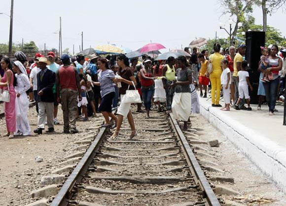 El escenario mágico. Foto: Ismael Francisco/Cubadebate