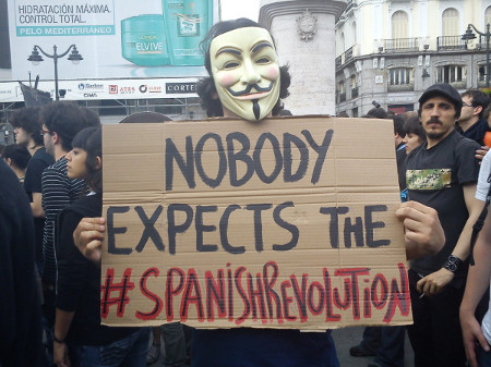 spanish revolution anon