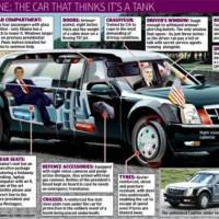 Papelazo: El Cadillac blindado de Obama se atasca y lo deja tirado en Irlanda