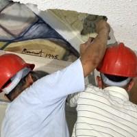 Redescubren en Cuba valiosas pinturas al fresco