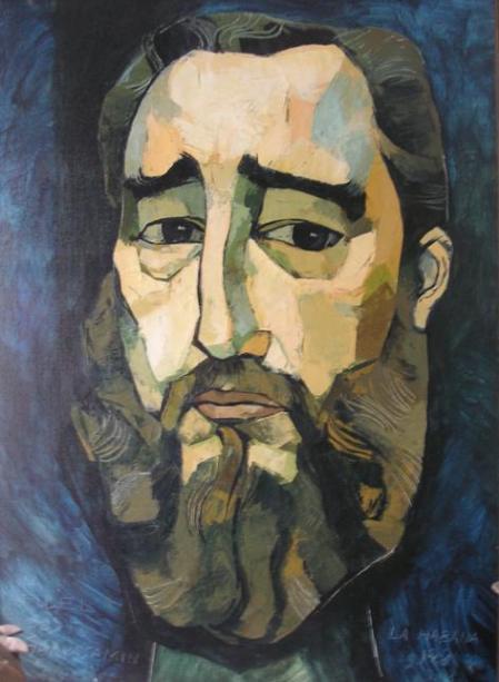 Resultado de imagen para Fidel por Guayasamin