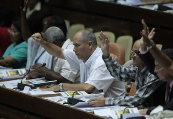 Asamblea Nacional del Poder Popular, de Cuba, el 1 de agosto de 2011. Foto: Ismael Francisco