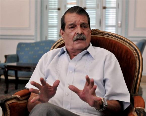 Abelardo Moreno, Vicecanciller cubano. Foto: EFE