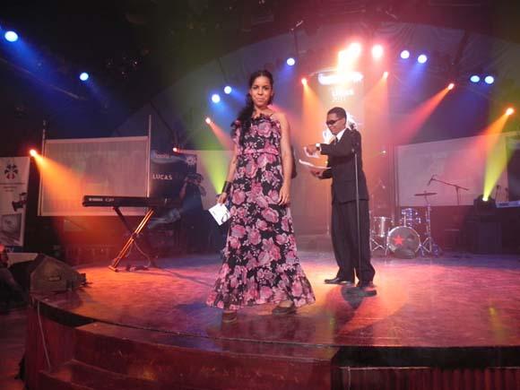 """Danay Suárez con  """"Yo aprendí"""" del realizador Wilberg H. Monteverde,  se encuentra entre las nominadas en Vídeo Artista Novel. Foto: Marianela Dufflar"""