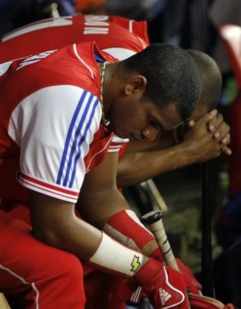 Doble frustración: lesionado y derrotado. Foto: AP