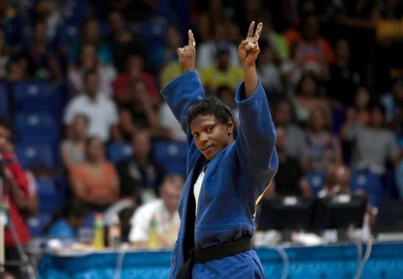 Medalla de Oro para la cubana Yumisleidy Lupetey en la division de los 57 kg del Judo panamericano.
