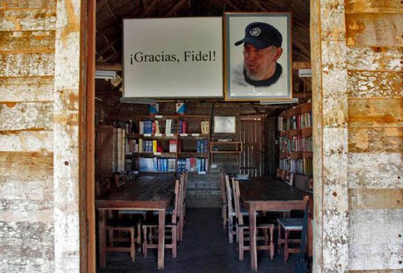 Gracias, Fidel. Foto: Ismael Francisco