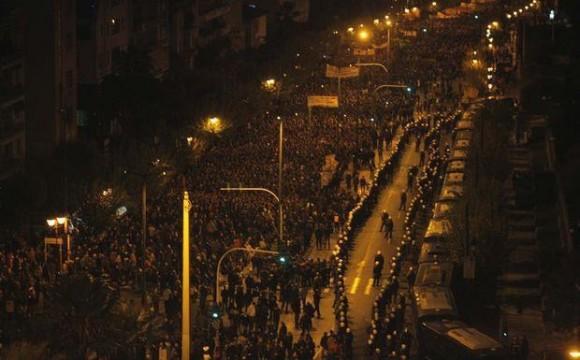 Más de 30 mil personas protestaron en Nueva York ese día.