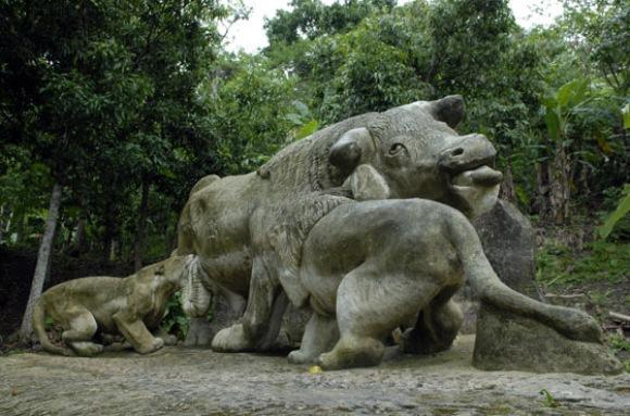 Cuba Zoolgico de piedra nico de su tipo en el mundo