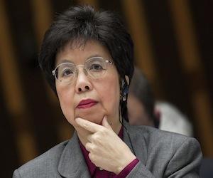 Margaret Chan.
