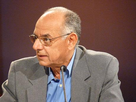 Rafael Bernal, Ministro de Cultura de Cuba.