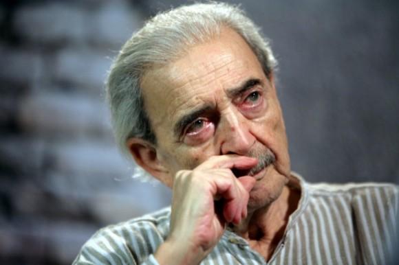 Juan Gelman en la 1a. Bienal del Libro y la Lectura de Brasilia