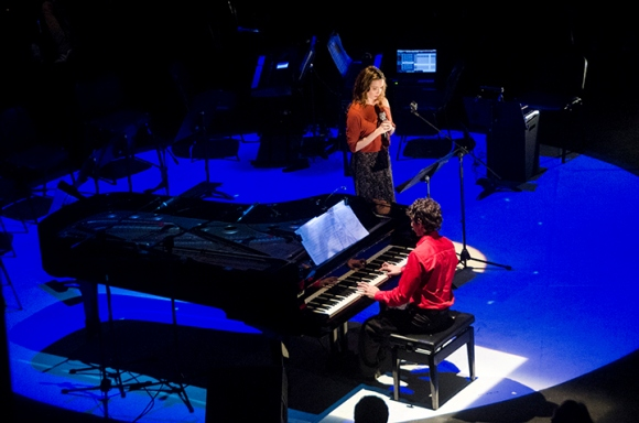 Diana Fuentes y Darío Martín. Foto: Olivia Prendes/Cubadebate