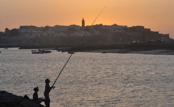 La ciudad de Rabat de Marruecos Foto: AFP/Fadel Senna