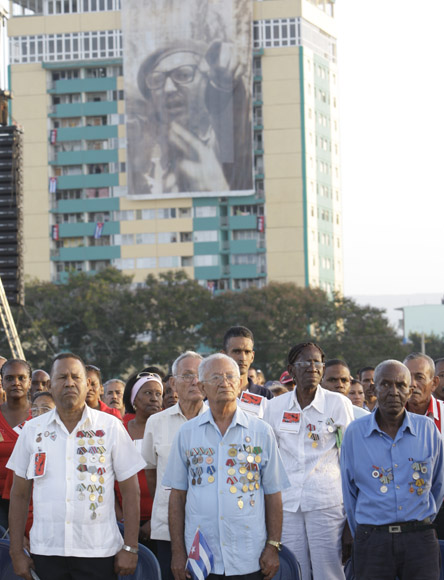 Acto del 26 de Julio en Guantánamo Foto: Ismael Francisco/CubaDebate