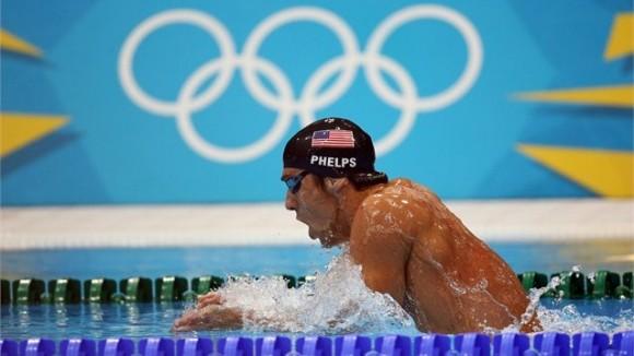 Michael Phelps fue el gran derrotado de la primera jornada de la natación