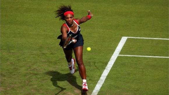 Serena Williams en el tenis de los Juegos Olímpicos