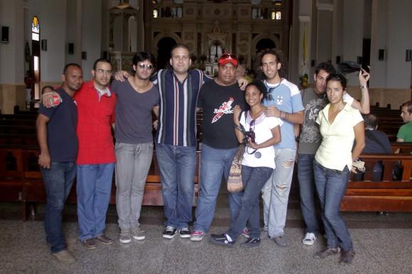 Visita a la patrona de los cubanos. Foto: Alejandro Ramírez Anderson/Cubadebate.