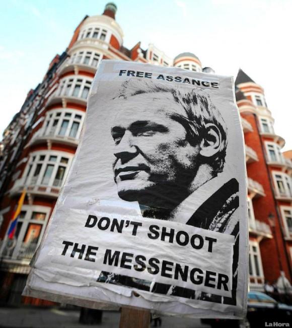 Assange Londres