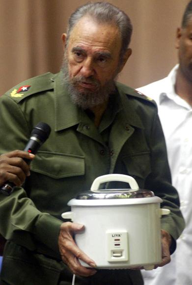 Fidel en el Palacio de Convenciones, en la implementacipon de los programas energeticos. Foto: Ismael Francisco/Cubadebate.