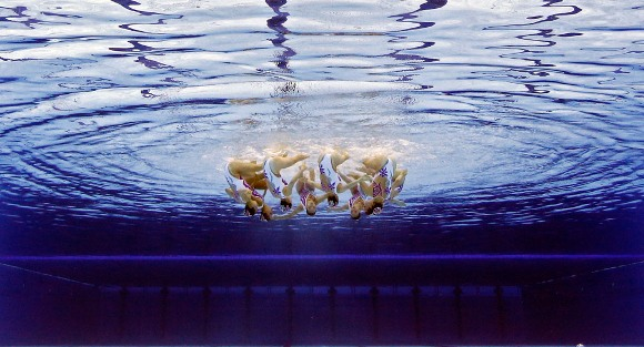 Equipo chino de nado sincronizado
