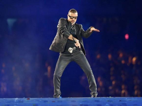 Presentación de George Michael. Foto: Reuters