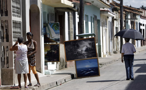 Vista de una calle de Camagüey. Foto: Ismael Francisco/Cubadebate.