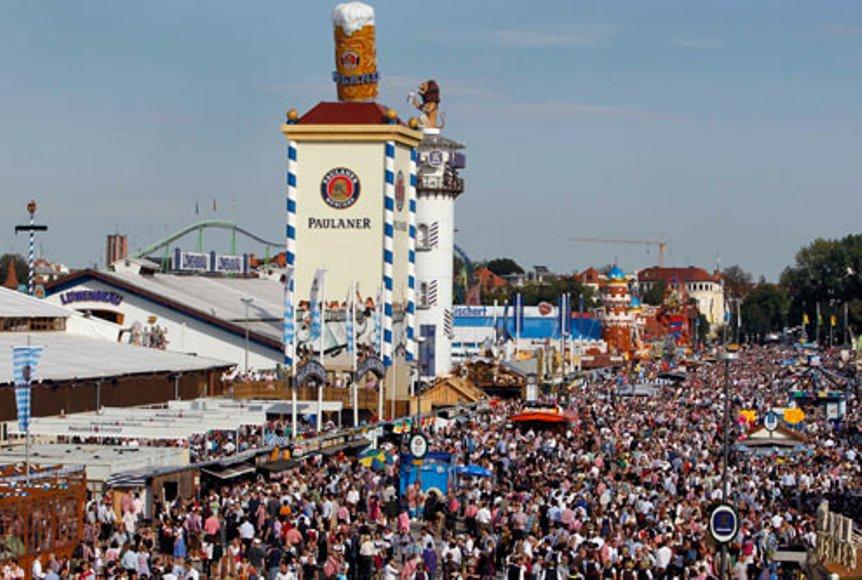 Comienza la Oktoberfest, el festival de cerveza más grande del mundo