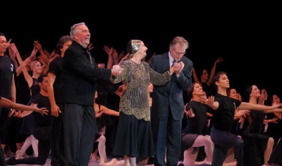 Presencia de la Prima Ballerina Assoluta, Alicia  Alonso, durante la gala de Inauguración del XXIII Festival de Ballet de La Habana, en la sala Avellaneda del Teatro Nacional de Cuba, realizada el 28 de octubre de 2012 en La Habana. AIN FOTO/Oriol de la Cruz ATENCIO