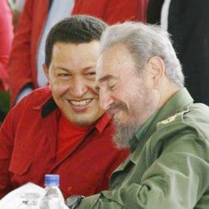 Fidel Castro Ruz y Hugo Chávez