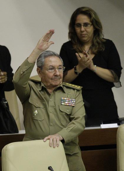 Clausura Raúl Castro, la sesión ordinaria de la Asamblea Nacional. Foto: Ismael Francisco/Cubadebate.