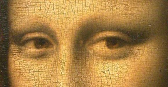 ojos de la mona lisa