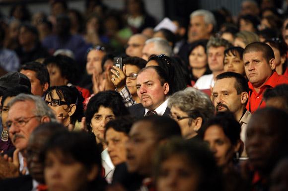 Delegados durante la apertura de Pedagogía 2013. Foto: Cubadebate/ Ismael Francisco