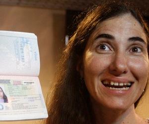 Yoani Sánchez en Brasil.
