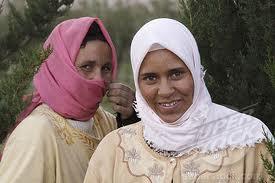 Vestimenta tradicional bereber.