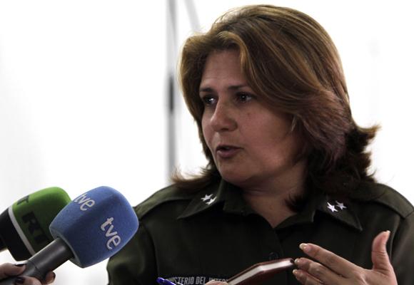 Teniente Coronel Sara Rubio Directora de la Carcel de mujeres de la Habana. Foto: Ismael Francisco/Cubadebate.