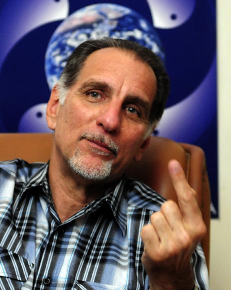 René González durante un encuentro con la prensa nacional. Foto: Ladyrene Pérez/Cubadebate.
