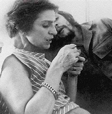 El Che junto a su madre