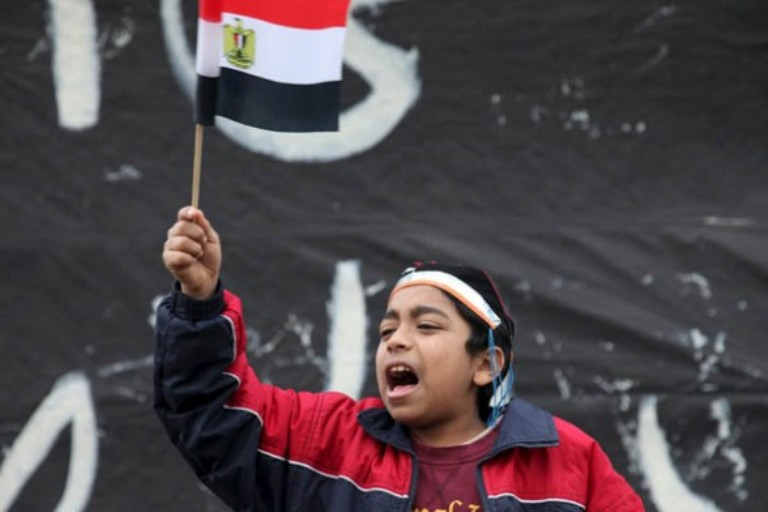 niño egipcio