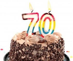 Pastel de<br /> cumpleaños
